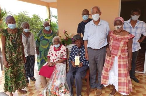 Un nouveau centenaire au Robert en Martinique