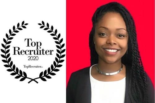 La Guadeloupéenne Audrey Delin est la «Top recruiter 2020» de...