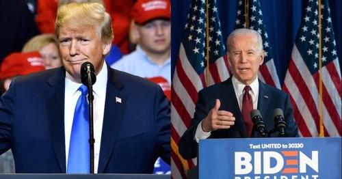 Election américaine 2020 : Trump et Biden au coude-à-coude, le...