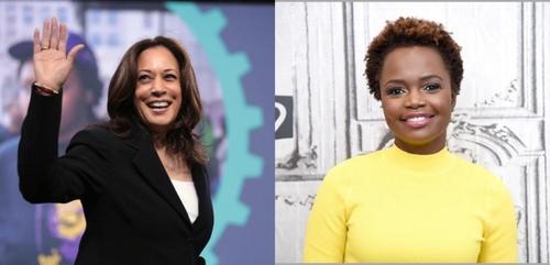 Kamala Harris et Karine Jean-Pierre, deux femmes noires et...