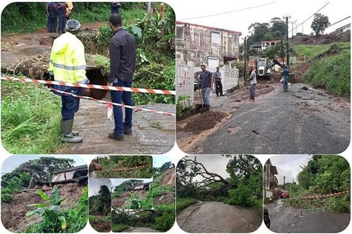 Des sinistrés, victimes des pluies diluviennes dans le nord...