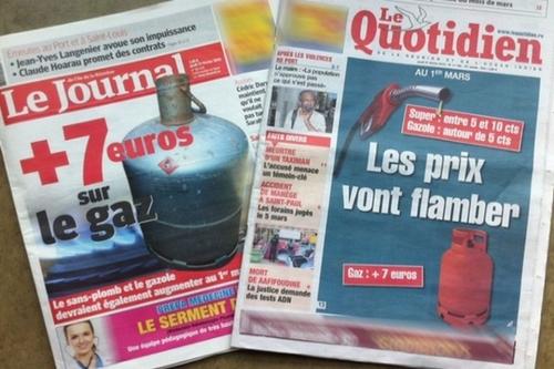 Des aides exceptionnelles à des journaux, en métropole et en Outre-mer