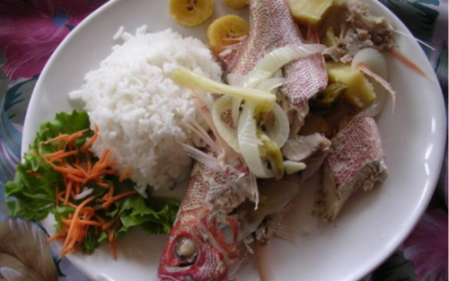 La recette du jour : le blaff de poisson antillais