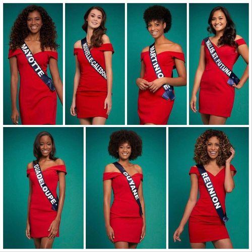 Miss France 2021 : découvrez les 7 Miss des Outre-mer