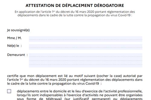 Covid-19 : l'attestation ne sera plus obligatoire dès le 15 décembre
