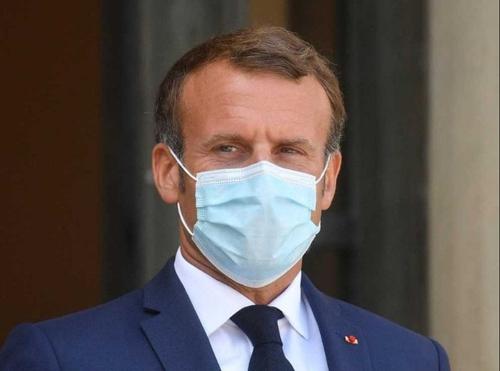 Le Président de la République Emmanuel Macron positif au Covid-19