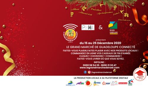La Guadeloupe lance son premier marché de Noël connecté