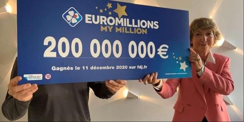 Euromillions : le gagnant des 200 millions d'euros souhaite aider...