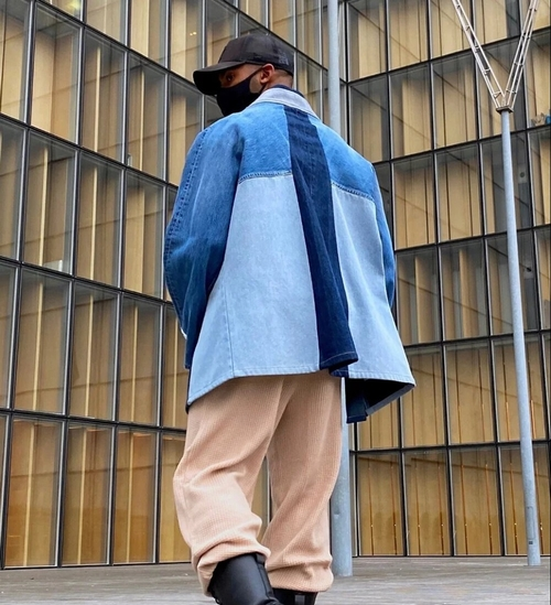 Un créateur antillais crée des vestes haut de gamme avec des jeans...