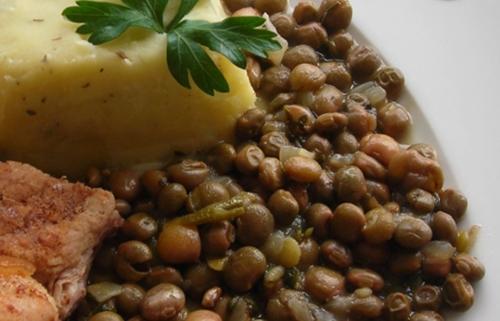 La recette du jour : les pois d'angole
