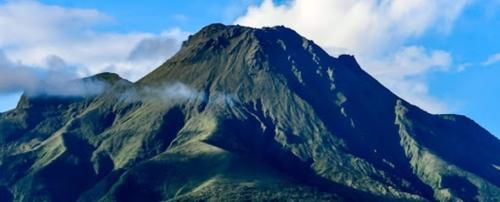 L'activité de la Montagne Pelée en Martinique baisse de plus en plus