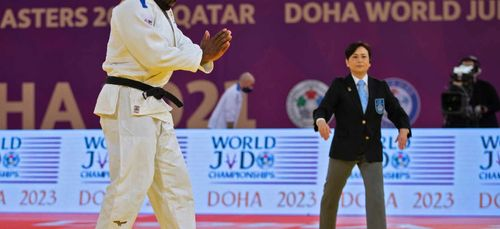 Teddy Riner, frappe fort pour son grand retour au Masters de Doha