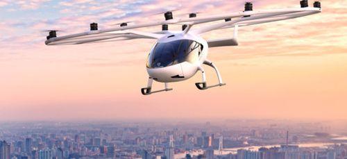 Des taxis volants feront leur premier vol d'essai en juin !