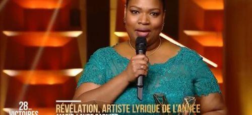 La Guyanaise Marie-Laure Garnier sacrée révélation lyrique aux...