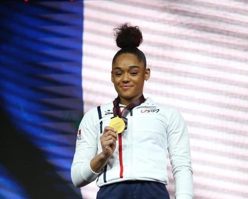 La Martiniquaise Mélanie De Jesus Dos Santos sacrée championne...