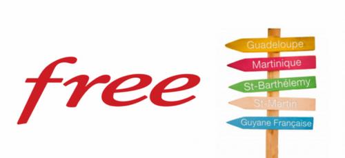 Free Mobile : le réseau enfin accessible en Guadeloupe, Martinique,...