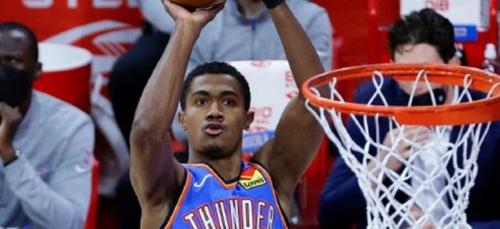 NBA: Théo Malédon devient détenteur d'un record avec Oklahoma city