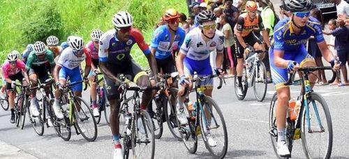 Report tour cycliste de la Guadeloupe.