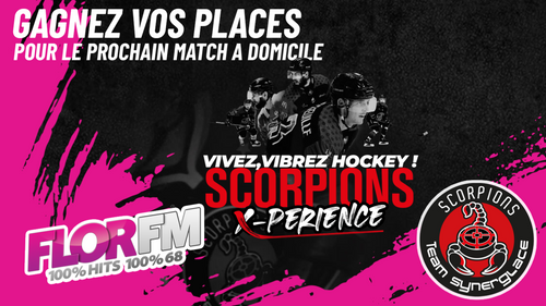 Gagnez vos places pour les matchs des Scorpions à la patinoire de...