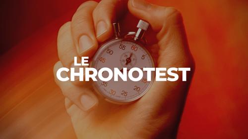 Le Chronotest - Gagnez 300 euros !