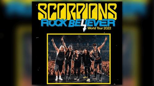 Scorpions : un nouvel album et des concerts en France en 2022