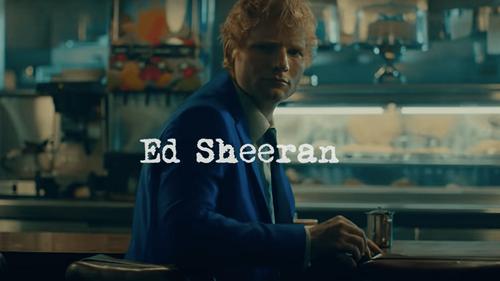 """Ed Sheeran dévoile la bande annonce de son nouveau titre """"Shivers"""""""