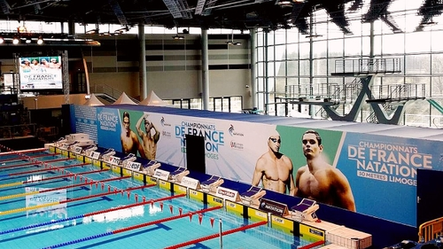 Limoges accueillera les Championnats de France de Natation en 2022