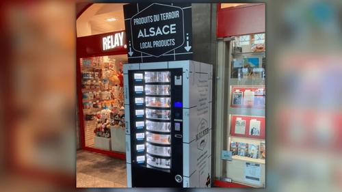 Strasbourg : un distributeur de choucroute à la gare
