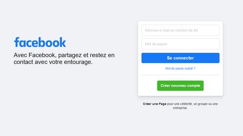 Retour progressif des services de Facebook