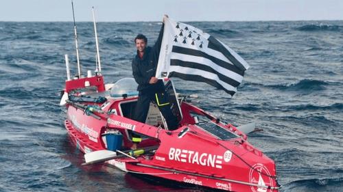 Le breton Guirec Soudée achève une traversée épique de l'Atlantique...
