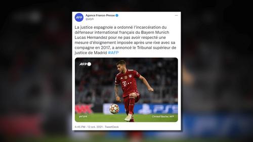 Foot : la justice espagnole ordonne l'incarcération de...