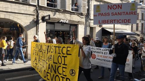 Nouveau samedi de mobilisation des anti-pass dans nos régions