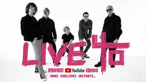 Indochine a offert un concert gratuit sur YouTube