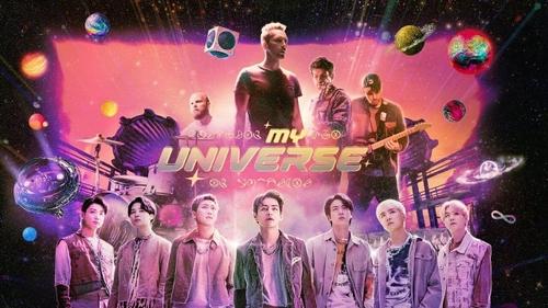 """Coldplay dévoile le clip de """"My Universe"""" avec BTS"""