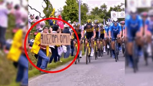 Chute massive lors Tour de France : quatre mois avec sursis requis...