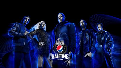 Dr. Dre, Snoop Dogg, Eminem pour le spectacle de la mi-temps du...