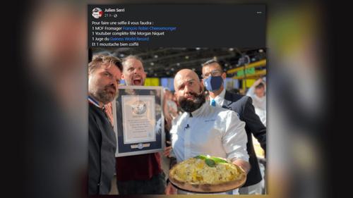 Lyon : Une pizza aux 834 fromages bat le record du monde !