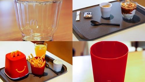 McDonald's teste de la vraie vaisselle dans ses restaurants ?
