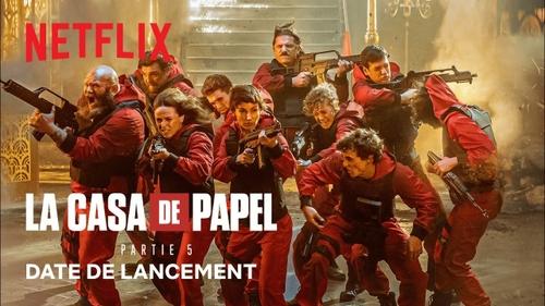 Netflix dévoile la bande-annonce et la date de sortie de la saison 5 de Casa De Papel