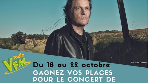Gagnez Vos Places Pour Le Concert De Francis Cabrel