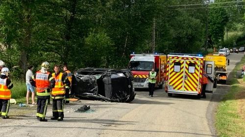 3 jeunes légèrement blessés dans un accident à Vire
