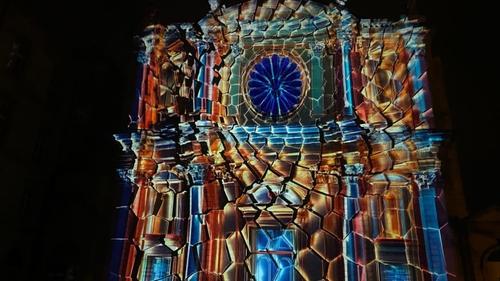 Metz : le concours international de mapping vidéode Constellations