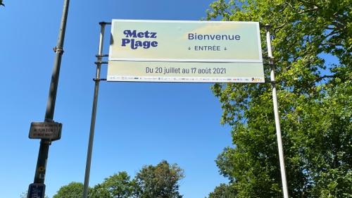 Covid-19: Réduction de la jauge de fréquentation de Metz Plage