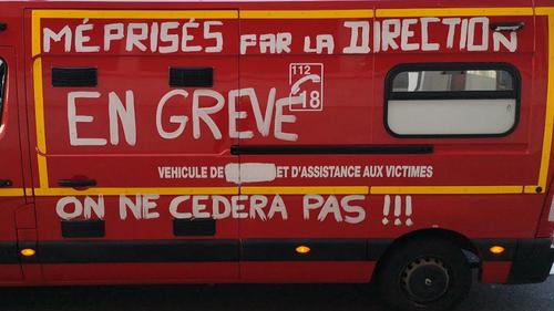 Moselle : Pompiers et Soignants dans la rue ce jeudi