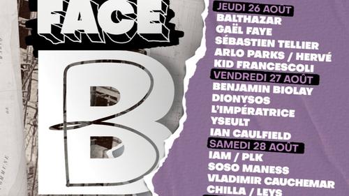 Remportez votre pass pour le Festival FACE B