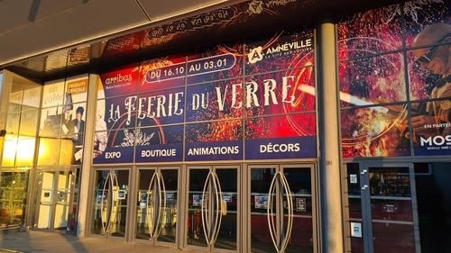 (Vidéo) : Les premières images de la Féerie du verre à Amnéville