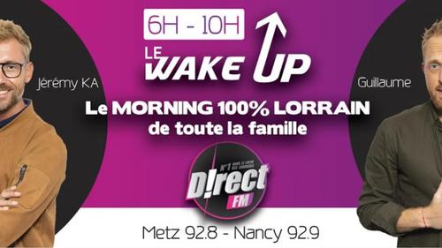 D!RECT FM: LE FOU RIRE DU WAKE UP