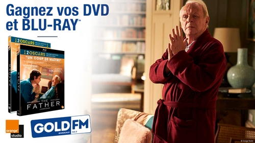 """GAGNEZ VOS DVD ET BLU-RAY """"THE FATHER"""""""