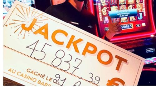 Deux gagnants au casino