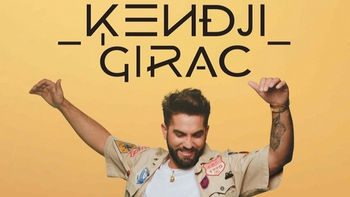 Kendji Girac en concert à l'Arkea Arena de Bordeaux